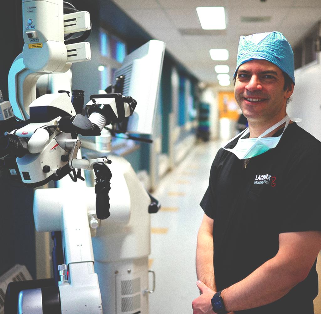 Dr Eric Truffer, neurochirurgien